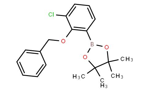 BP22754 | 2-Benzyloxy-3-chlorophenylboronic acid pinacol ester