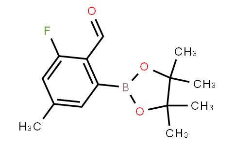 BP22761 | 3-Fluoro-2-formyl-5-methylphenylboronic acid pinacol ester
