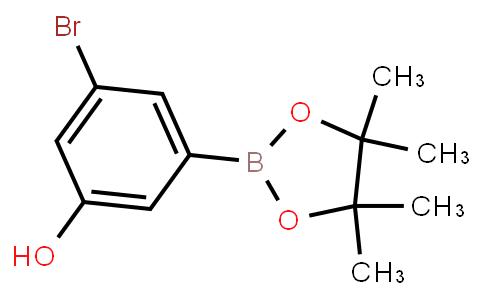 BP22771   1218789-50-4   3-Bromo-5-hydroxyphenylboronic acid pinacol ester