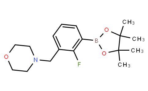 BP22789 | 2096340-24-6 | 2-Fluoro-3-(morpholinomethyl)phenylboronic acid pinacol ester