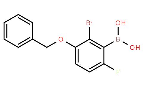 BP22798   2-Bromo-6-fluoro-3-benzyloxyphenylboronic acid