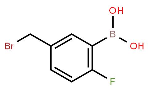 BP22808   5-Bromomethyl-2-fluorophenylboronic acid