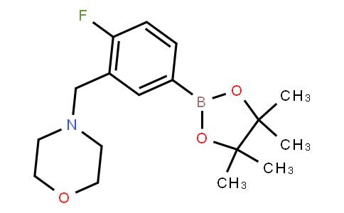 BP22810 | 4-Fluoro-3-(morpholinomethyl)phenylboronic acid pinacol ester