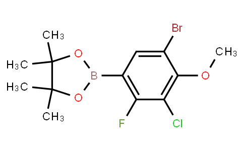 BP22811 | 5-Bromo-3-chloro-2-fluoro-4-methoxyphenylboronic acid pinacol ester
