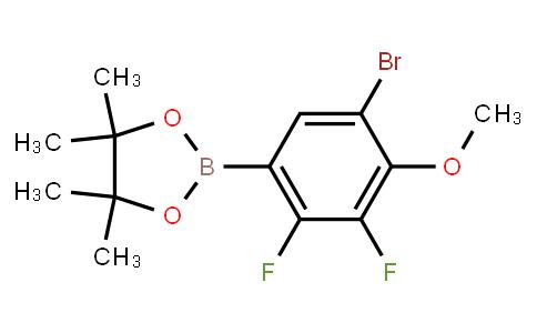 BP22813 | 5-Bromo-2,3-difluoro-4-methoxyphenylboronic acid pinacol ester