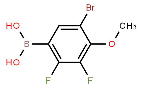 BP22814 | 2096337-64-1 | 5-Bromo-2,3-difluoro-4-methoxyphenylboronic acid