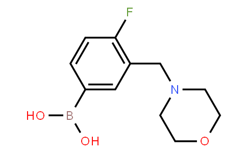 BP22816   1704063-95-5   4-Fluoro-3-(morpholinomethyl)phenylboronic acid