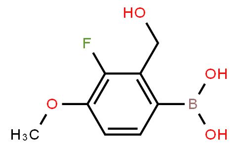 BP22817   3-Fluoro-2-hydroxymethyl-4-methoxyphenylboronic acid
