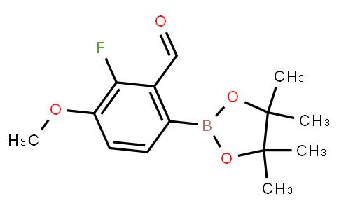 BP22818 | 3-Fluoro-2-formyl-4-methoxyphenylboronic acid pinacol ester