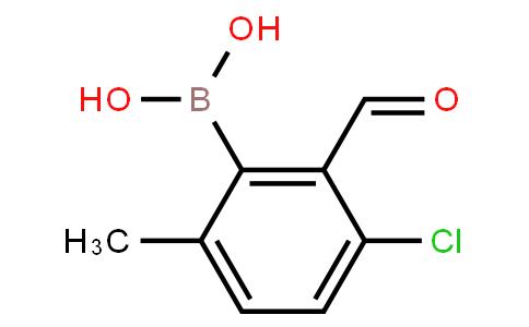 BP22835 | 3-Chloro-2-formyl-6-methylphenylboronic acid