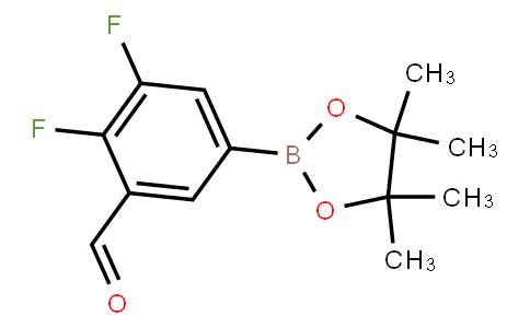 BP22843 | 3,4-Difluoro-5-formylphenylboronic acid pinacol ester