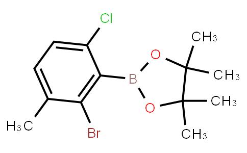 BP22860 | 2-Bromo-6-chloro-3-methylphenylboronic acid pinacol ester