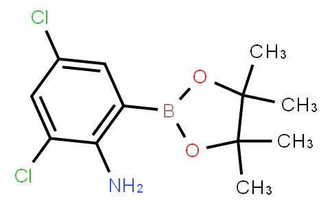 BP22862   2-Amino-3,5-dichlorophenylboronic acid pinacol ester