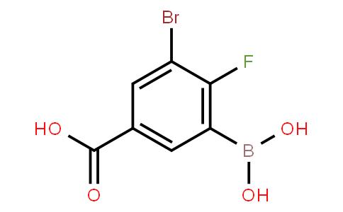 BP22872   1452575-84-6   2-Fluoro-3-bromo-5-carboxyphenylboronic acid