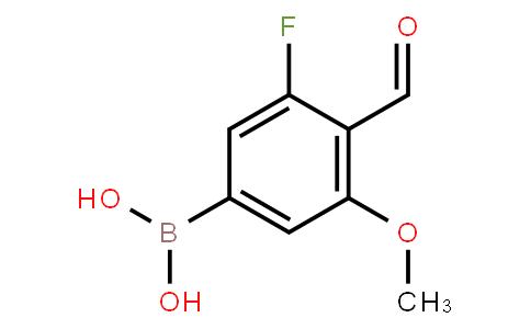 BP22873 | 5-Fluoro-4-formyl-3-methoxyphenylboronic acid