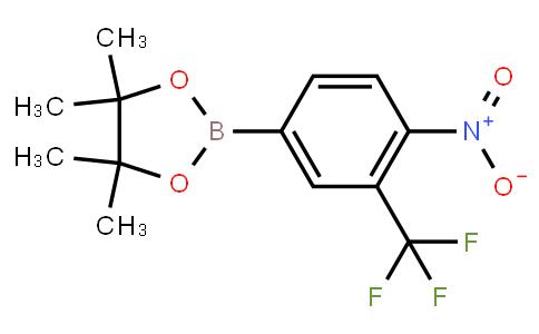 BP22889 | 1402615-44-4 | 4-Nitro-3-trifluoromethylphenylboronic acid, pinacol ester