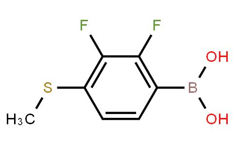 BP22896 | 2,3-Difluoro-4-(methylsulfanyl)phenylboronic acid