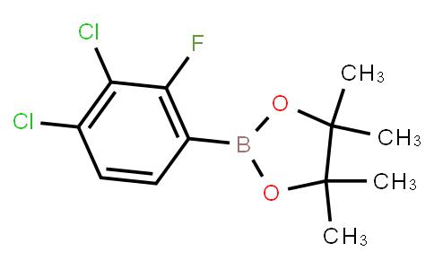BP22897 | 1165935-92-1 | 2-(3,4-Dichloro-2-fluorophenyl)-4,4,5,5-tetramethyl-1,3,2-dioxaborolane