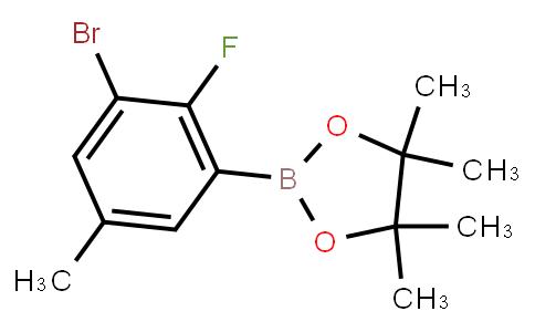 BP22898 | 3-Bromo-2-fluoro-5-methylphenylboronic acid pinacol ester