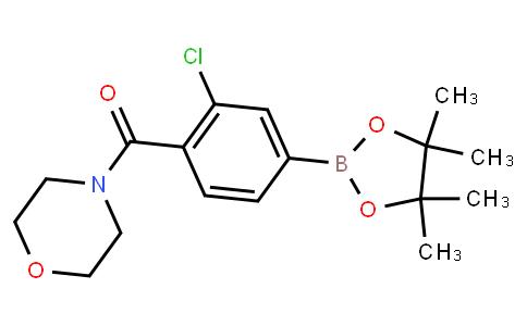 BP22907   3-Chloro-4-(morpholine-4-carbonyl)phenylboronic acid pinacol ester