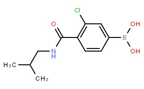 BP22913   2096335-60-1   3-Chloro-4-(isobutylcarbamoyl)benzeneboronic acid