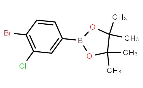 BP22915 | 1809946-58-4 | 2-(4-bromo-3-chlorophenyl)-4,4,5,5-tetramethyl-1,3,2-dioxaborolane