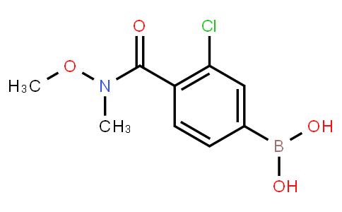 BP22918 | 4-(N,O-Dimethylhydroxylaminocarbonyl)-3-chlorophenylboronic acid