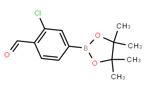 BP22919   1426320-86-6   2-Chloro-4-(tetramethyl-1,3,2-dioxaborolan-2-yl)benzaldehyde