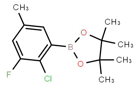 BP22923   2-Chloro-3-fluoro-5-methylphenylboronic acid pinacol ester