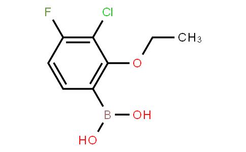 BP22926   3-Chloro-2-ethoxy-4-fluorophenylboronic acid