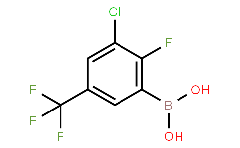 BP22946 | 2096342-38-8 | 3-Chloro-2-fluoro-5-(trifluoromethyl)phenylboronic acid