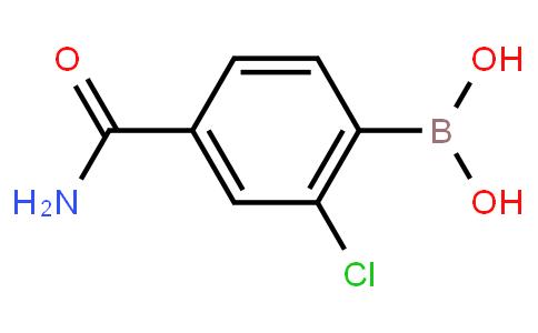 BP22948   4-(Aminocarbonyl)-2-chlorophenylboronic acid