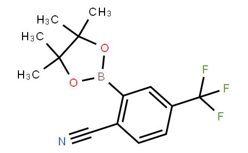 BP22949 | 863868-28-4 | 2-(4,4,5,5-tetramethyl-1,3,2-dioxaborolan-2-yl)-4-(trifluoromethyl)benzonitrile