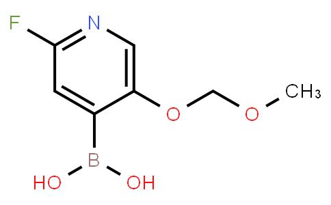 BP22952   2-Fluoro-5-(methoxymethoxy)-pyridin-4-ylboronic acid