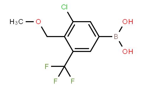 BP22960 | 3-Chloro-4-(methoxymethyl)-5-(trifluoromethyl)phenylboronic acid