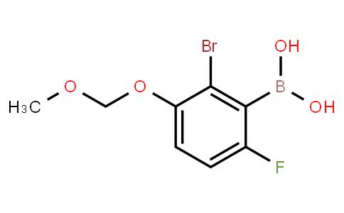 BP22973 | 2-Bromo-6-fluoro-3-(methoxymethoxy)phenylboronic acid