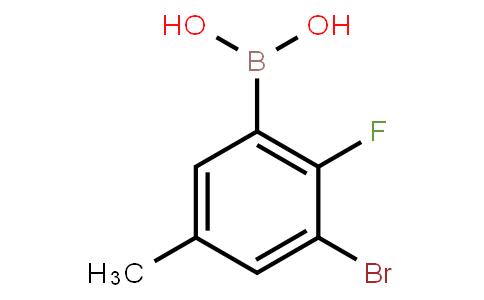 BP22974 | 957066-00-1 | 3-Bromo-2-fluoro-5-methylphenylboronic acid