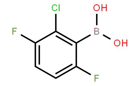 BP22981   2-Chloro-3,6-difluorophenylboronic acid
