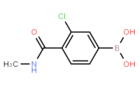 BP22987 | 850589-39-8 | 3-Chloro-4-(N-methylcarbamoyl)phenylboronic acid
