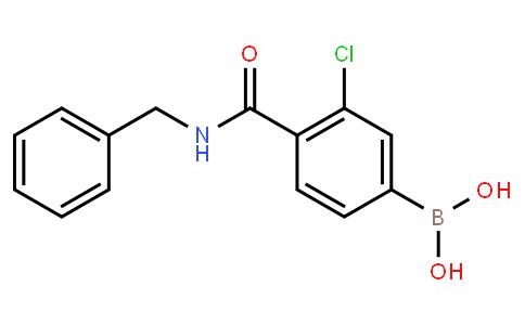 BP22989 | 850589-42-3 | 3-Chloro-4-(N-benzylcarbamoyl)phenylboronic acid