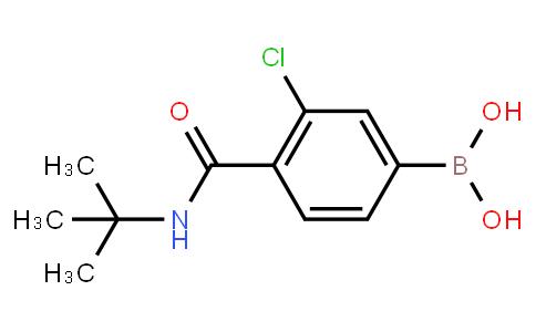 BP22990   850589-46-7   3-Chloro-4-(N-tert-butylcarbamoyl)phenylboronic acid