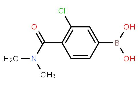 BP22991 | 850589-47-8 | 3-Chloro-4-(N,N-dimethylcarbamoyl)phenylboronic acid