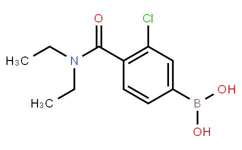 BP22992 | 850589-48-9 | 3-Chloro-4-(N,N-diethylcarbamoyl)phenylboronic acid