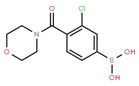 BP22993 | 850589-49-0 | 3-Chloro-4-(morpholine-4-carbonyl)phenylboronic acid