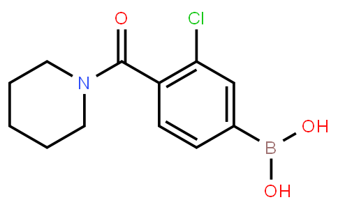 BP22994 | 850589-50-3 | 3-Chloro-4-(piperidine-1-carbonyl)phenylboronic acid