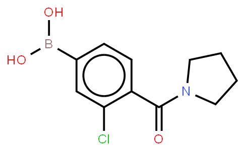 BP22995 | 850589-51-4 | 3-Chloro-4-(pyrrolidinyl-1-carbonyl)phenylboronic acid