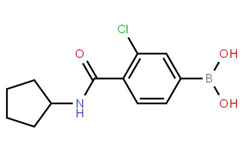 BP22996 | 957061-19-7 | 3-Chloro-4-cyclopentylcarbamoylphenylboronic acid
