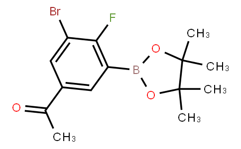 BP23004 | 5-Acetyl-3-bromo-2-fluorophenylboronic acid pinacol ester