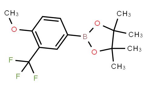 BP23006   1445019-24-8   2-[4-methoxy-3-(trifluoromethyl)phenyl]-4,4,5,5-tetramethyl-1,3,2-dioxaborolane