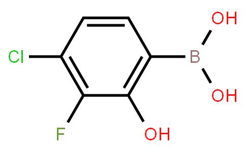 BP23011   4-Chloro-3-fluoro-2-hydroxyphenylboronic acid